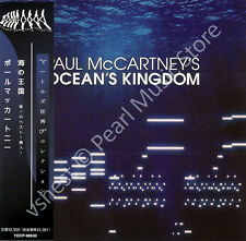 PAUL MCCARTNEY OCEAN'S KINGDOM CD MINI LP OBI Quarrymen Beatles Wings new sealed