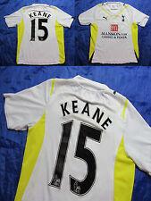 ROBBIE KEANE #15 TOTTENHAM HOTSPUR home shirt jersey PUMA 2009-2010 adult SIZE S