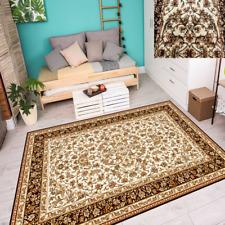 Teppich Klassisch Orientalisches Design Perser mit Umrandung Creme 6 Größen