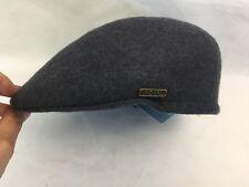 JACARU 100% Wool Felt Ivy Hat  - Drivers - Charcoal - Size M - Like New -