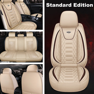 Standard Car Seat Cover Full Surround Leather Seat Cover Cushion Breathble Pad