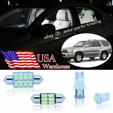 14-pc Bright White LED Interior Light Package Kit For Toyota 4Runner 96-02