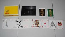 Carte Poker PIRELLI 100° anniversario Anni 70 DAL NEGRO 108 playing cards PERFET
