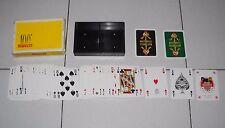 Carte Poker PIRELLI 100° anniversario Anni 7 DAL NEGRO 108 playing cards PERFECT