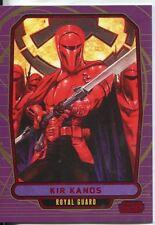Star Wars Galactic Files Red Parallel #216 Kir Kanos