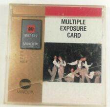 MINOLTA MULTIPLE EXPOSURE 2 EXPANSION PROGRAM CARD per 7xi 9xi 5xi 8000i CAMERAS
