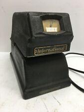 Vintage International Black Model 7800 5 Business Machines Time Recorder
