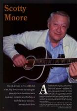 Scotty Moore Presley UK 'Guitarist' Interview Clipping