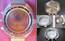poljot 3133 sturmanskie valjoux 7734 chronograph case watch military vintage nos