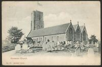 Norfolk. Gorleston. St. Andrew's Church, Gorleston. 1903 Great Yarmouth Postmark
