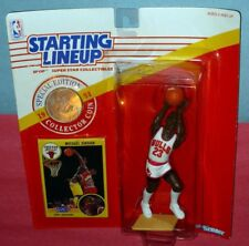 1991 MICHAEL JORDAN #23 Chicago Bulls lay-up pose FREE s/h - Starting Lineup