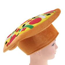 Pizza Food Design Hat Costume Fancy Dress Party Halloween Cosplay Christmas