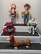 "Disney Pixar Toy Story Figurines 4"" - 6"" Woody Jesse Buzz + More"