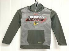 Chicago Blackhawks Reebok center ice hoodie youth kids size Small 8-10