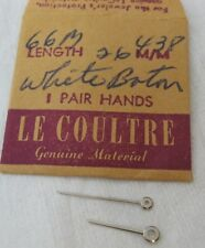 LeCoultre set of hands for movement cal  438
