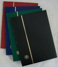 32 BLACK PAGE LIGHTHOUSE STAMP STOCKBOOK - ALBUM