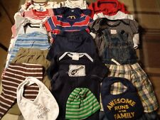 Lot of 20 pieces, boys 6-9 months clothing outfits.