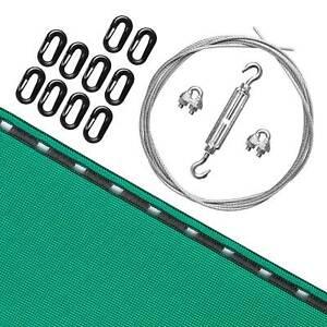 Haltbares Pfeilfangnetz grün für sorgloses Bogenschießen inklusive Zubehör