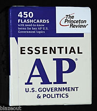 Essential AP US History 450 Flashcards by Princeton Review Staff (2010) USA