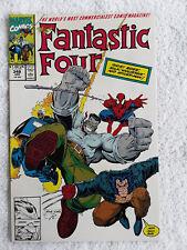 Fantastic Four #348 (Jan 1991, Marvel) Vol #1 Adams Variant VF+