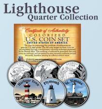 Historic Lighthouse State Quarter 3-Coin Set #6