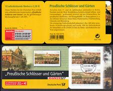 Bund MH 59 I gest. Preußische Schlösser und Gärten 2005 Vollstempel Hamburg