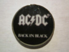 AC/DC (  Back in Black )Novelty Tour Collection Tack Pin New!
