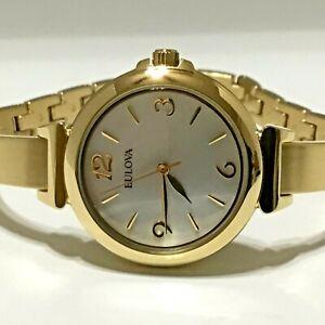 Bulova 97L138 Women's Gold-Tone Watch
