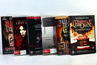 Horror DVD Bundle Of 6 Trilogy Of Terror Silent Hill Lost Souls Christine GC