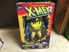 "1996 Toy Biz Marvel X-Men 10"" Inch Figure Doll MIB - WOLVERINE BATTLE DAMAGED"