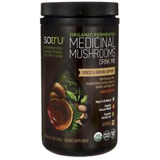 Sotru Organic Fermented Medicinal Mushrooms Dr 8.47 oz (240 grams) Pwdr