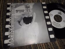 "MARISA VAN KOLCK MESSAGE OF LOVE/(INSTRUMENTAL) 7"" 1988 SPAIN SAM RECORDS"