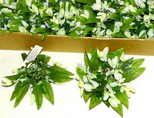 12 Stück Kerzenringe Kerzenkranz SCHNEEGLÖCKCHEN Blumenkranz Blumenring