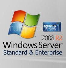 Windows Server 2008 R2 Standard & Enterprise - 64 BIT - GENUINE RETAIL VERSION