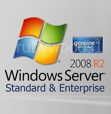 Windows Server 2008 R2 Standard & Enterprise - 64 BIT