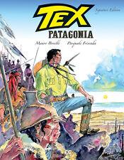 Tex: Patagonia (2017 Hardcover, blue cover), GN, Boselli, Frisenda