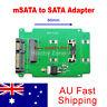 PCI-E PCIE 50mm mSATA SSD to 2.5 inch SATA Converter Adapter for Laptop
