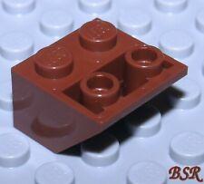 Dachstein 3660 /& NEU 26 Stück braune Dach Negativ invers 45° Steine 2x2 SK167