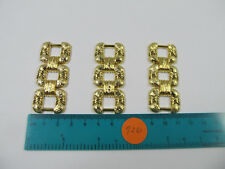 24 Pcs Metal 20mm 3 Gold D Ring For Purse Buckle / Clothes Bags