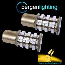 382 1156 BA15S 245 P21W AMBRA 48 LED FRECCIA POSTERIORE LAMPADINE CHIARO