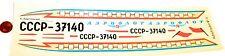 MI 6 CCCP Helicopter Aeroflot VEB Plasticart Wet slide VEB 059862 # HN5 å