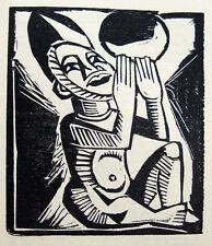 Vorzugsausgabe ! Max Pechstein Lovis Corinth Orig.Graphik Gurlitt Almanach 1919