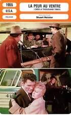 FICHE CINEMA : LA PEUR AU VENTRE - Palance,Winters 1955 I Died A Thousand Times
