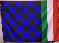 BANDIERA BANDIERONE INTER ATALANTA PISA NEROAZZURRA FLAG cm. 200 X 140