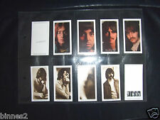 THE BEATLES - WHITE ALBUM   WARUS TRADING CARDS  FULL SET OF TEN IN SLEEVE