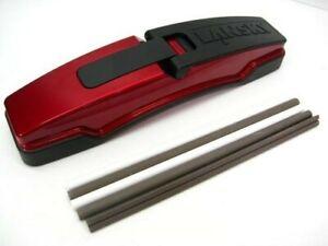 Lansky MEDGE1 Master's Edge Knife Sharpening System Serrated + Plain Sharpener