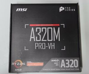 MSI A320M-A PRO Socket AM4 AMD Motherboard