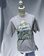 Vintage 1993 Pinky and the Brain T Shirt Size Large Unisex