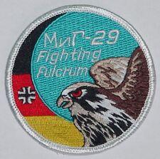 Luftwaffe Patch Aufnäher JG 73 Fulcrum Farewell  MIG-29 ...........A2713