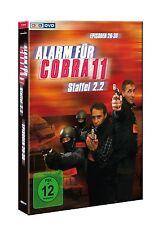 """ALARM FÜR COBRA 11 """"STAFFEL 2.2"""" 3 DVD NEU"""